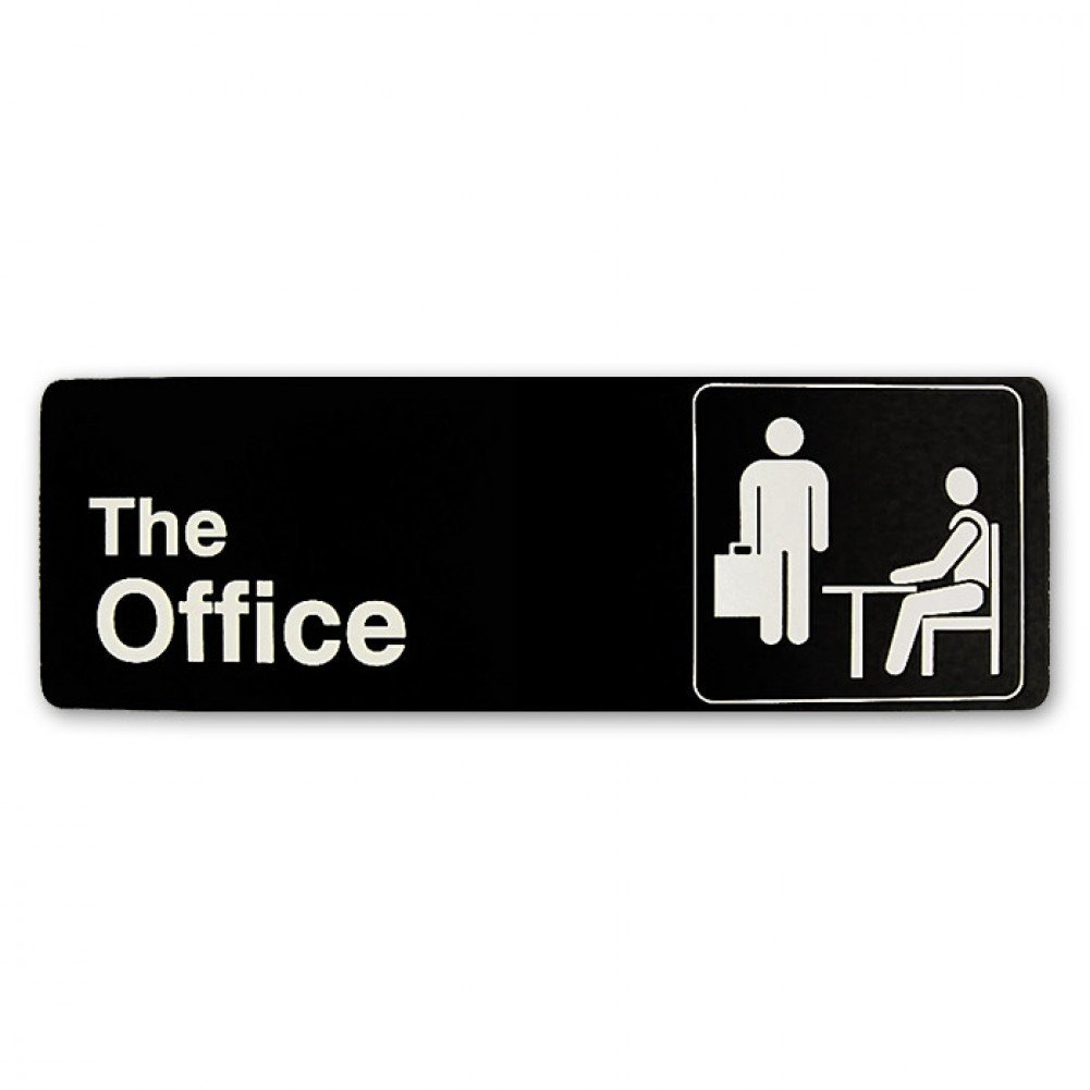 The Office Sign The Office