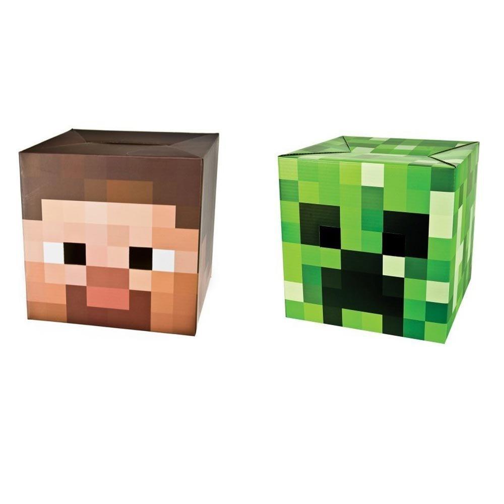 sc 1 st  Actually Seen On u2013 Almost Seen On & Minecraft Steve u0026 Creeper Head
