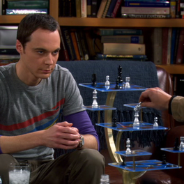 Star Trek Tri Dimensional Chess Set The Big Bang Theory