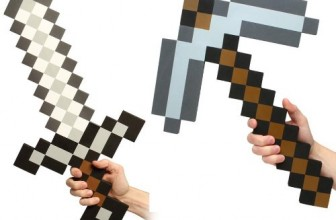 Minecraft  Minecraft Foam Sword & Pickaxe Combo Set Of 2