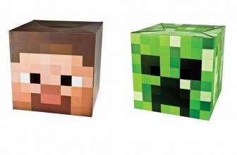 Minecraft Steve & Creeper Head