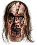 The Walking Dead Zombie Man With Split Head Latex Mask