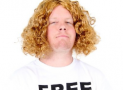 Curly Long Hair Henderson Costume Wig