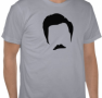 Ron Swanson Silhouette – Parks and Recreation