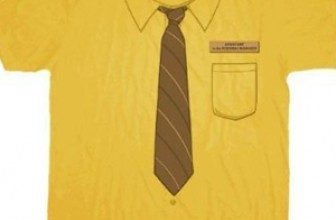 Dwight Mustard Shirt – The Office
