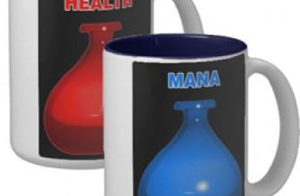 Health and Mana Mugs